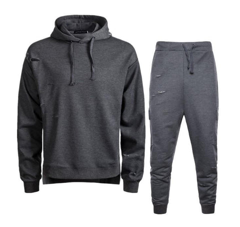 Fashion Homens Hoodies Suit