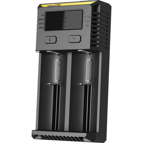 Nitecore i2 Intellicharger 2 Bay Battery Charger (New 2016)