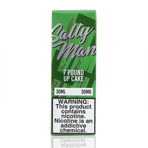 7 POUND UP CAKE - SALTY MAN VAPOR - 30ML