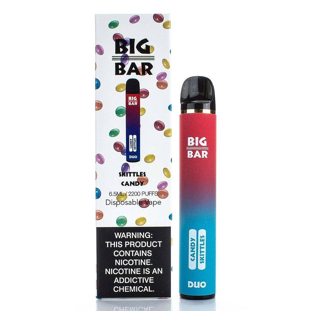 Big Bar DUO Disposable Device - 2200 Puffs