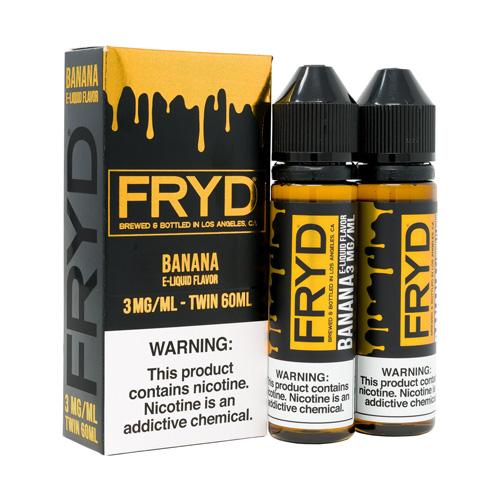 FRYD Twin Pack Banana 2x60ml Vape Juice