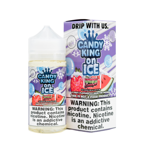 Watermelon Bubble Gum by Candy King On Ice 100ml