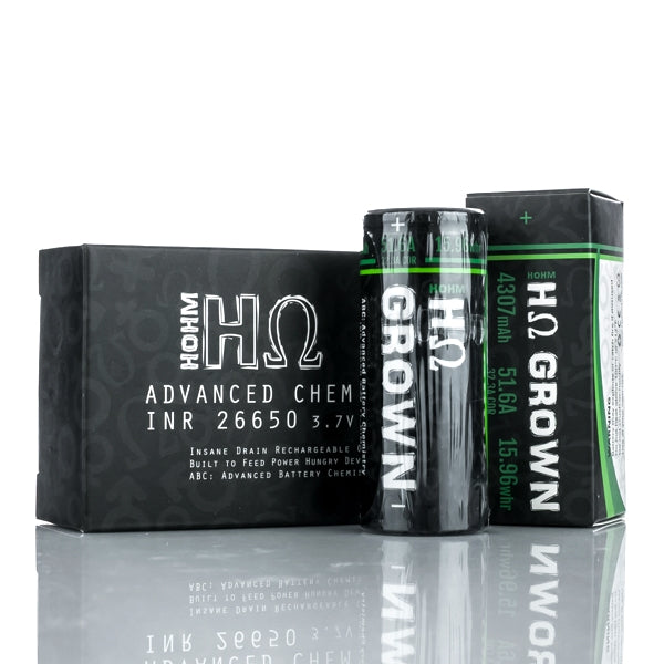 Hohm Tech Grown 26650 4307mAh 32.3A Battery
