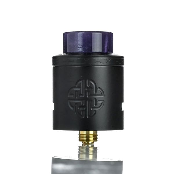 Hellvape X AmbitionZ VapeR Aequitas 24mm RDA - Full Black