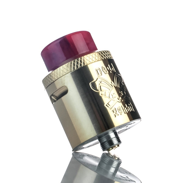 Hellvape X Heathen Dead Rabbit 24mm RDA - Gold