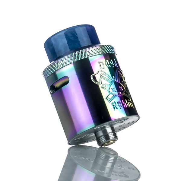 Hellvape X Heathen Dead Rabbit 24mm RDA - Rainbow