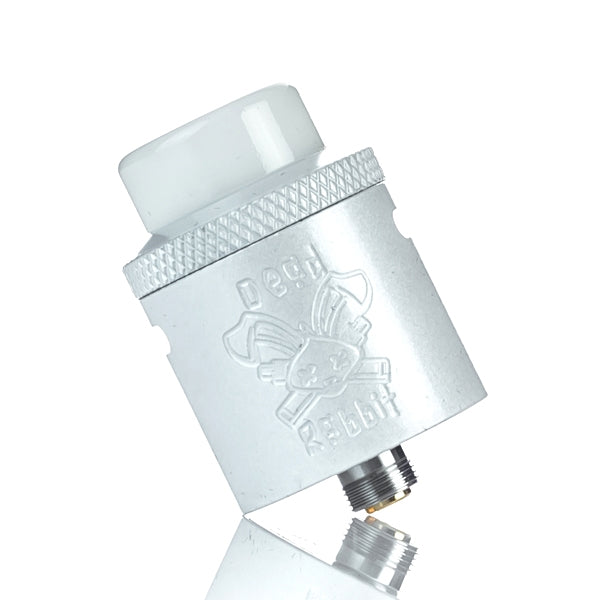 Hellvape X Heathen Dead Rabbit 24mm RDA - Pearl White