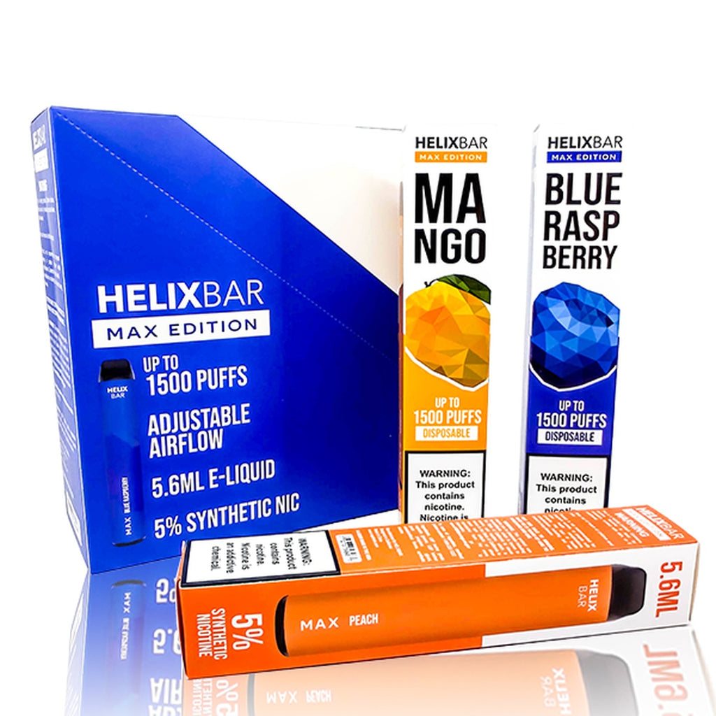 HelixBar Max Edition Disposable  1500 Puffs