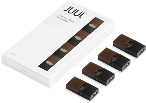 JUUL Replacement Pods - (4 Pack)