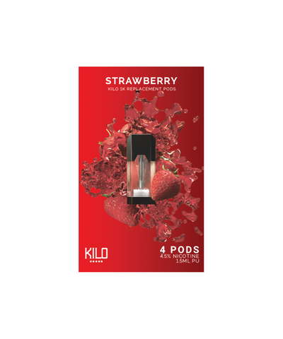 Kilo 1K Replacement Pods - (4 Pack) Strawberry