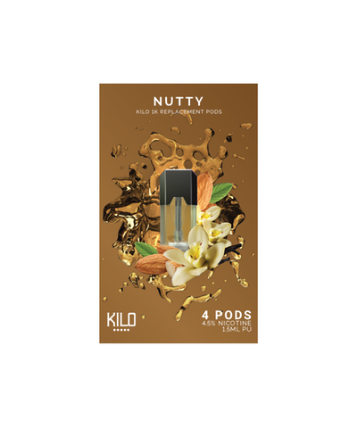 Kilo 1K Replacement Pods - (4 Pack) Nutty
