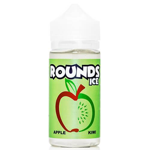 Apple Kiwi Ice by Rounds E-Liquid Ice 100ml