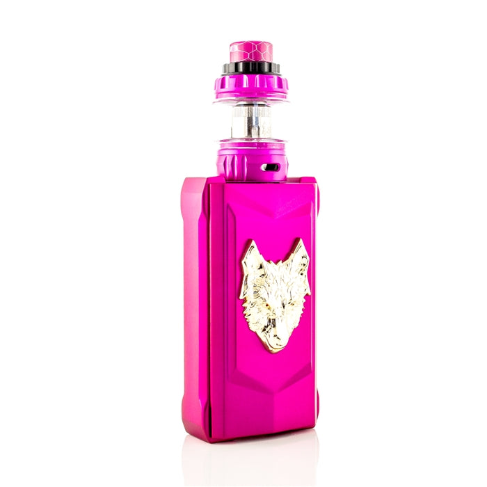 SnowWolf MFENG 200W TC Starter Kit - Pink/Gold