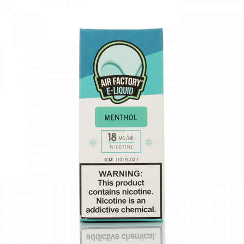 MENTHOL - AIR FACTORY SALTS - 30ML