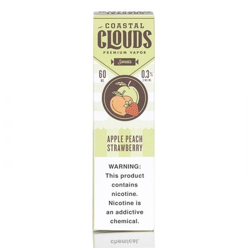 APPLE PEACH STRAWBERRY - COASTAL CLOUDS CO. - 60ML