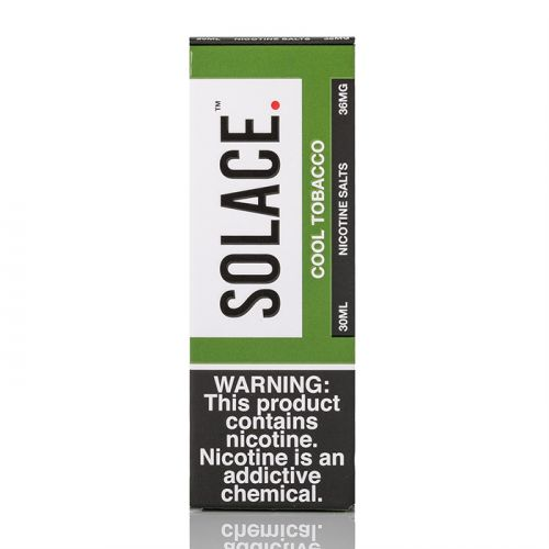 COOL TOBACCO - SOLACE SALTS - 30ML