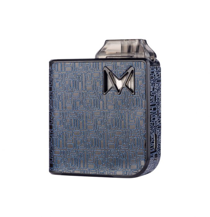 Smoking Vapor Mi-Pod Ultra-Portable System - Digital Edition Blue