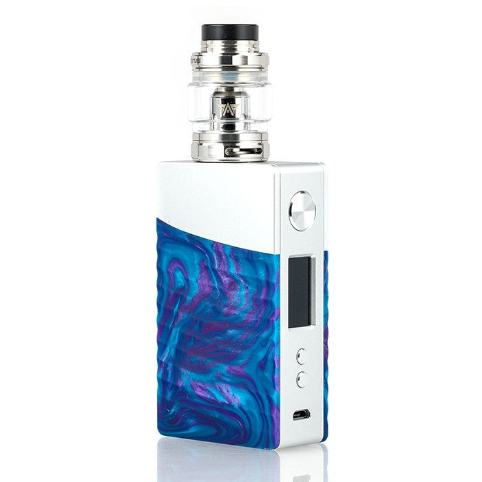 Geek Vape NOVA 200W TC Starter Kit - Silver Cobalt Resin