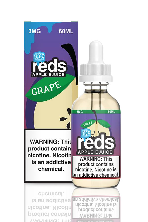 Reds Grape Iced by Reds Apple E-Juice 60ml