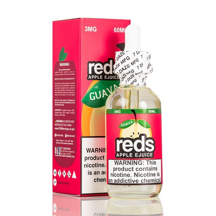 RED'S GUAVA APPLE E-JUICE - 7 DAZE - 60ML