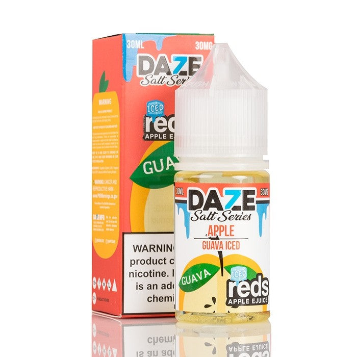 RED'S GUAVA APPLE ICED - 7 DAZE SALT - 30ML