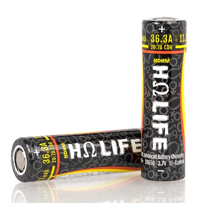 Hohm Tech Life 18650 3077mAh 36.3A Battery