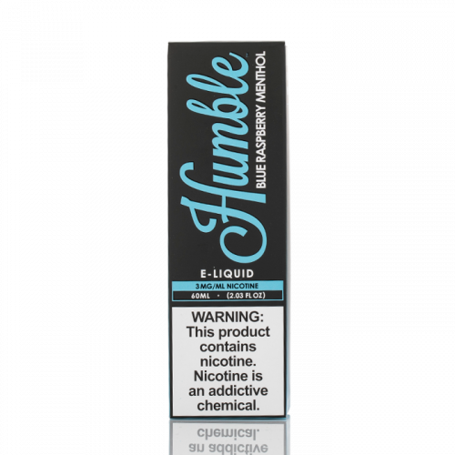 BLUE RASPBERRY MENTHOL - HUMBLE JUICE CO. - 60ML