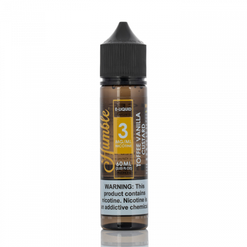 TOFFEE VANILLA CUSTARD - HUMBLE JUICE CO. - 60ML