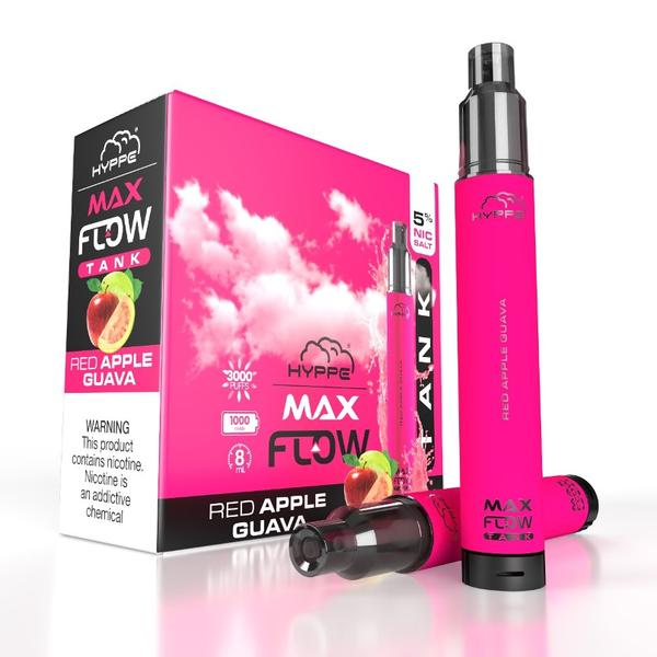 Hyppe Max Flow Tank Disposable Vape 5% Nicotine