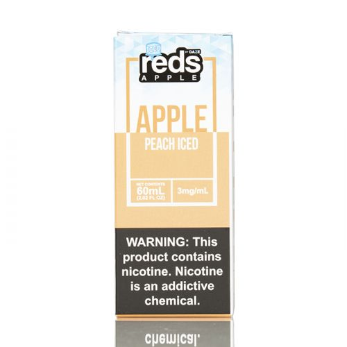 ICED PEACH - RED'S APPLE E-JUICE - 7 DAZE - 60ML