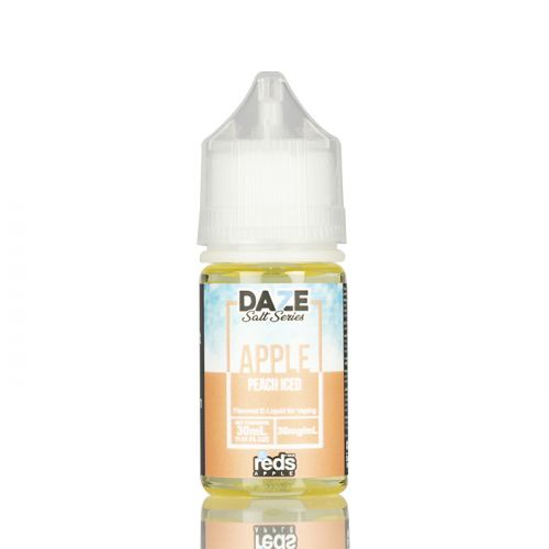 ICED PEACH - RED'S APPLE E-JUICE - 7 DAZE SALT - 30ML