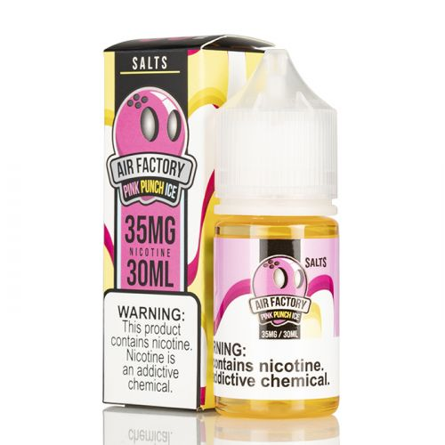 ICED PINK PUNCH - AIR FACTORY SALTS - 30ML