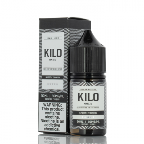 SMOOTH TOBACCO - KILO E-LIQUID SALT SERIES - 30ML