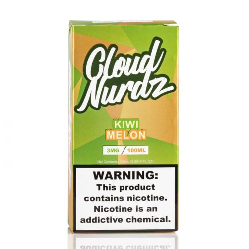 KIWI MELON - CLOUD NURDZ E-LIQUID - 100ML