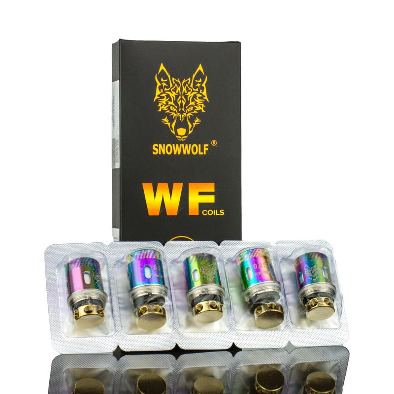 SnowWolf MFENG Replacement Coils - (5-PK)