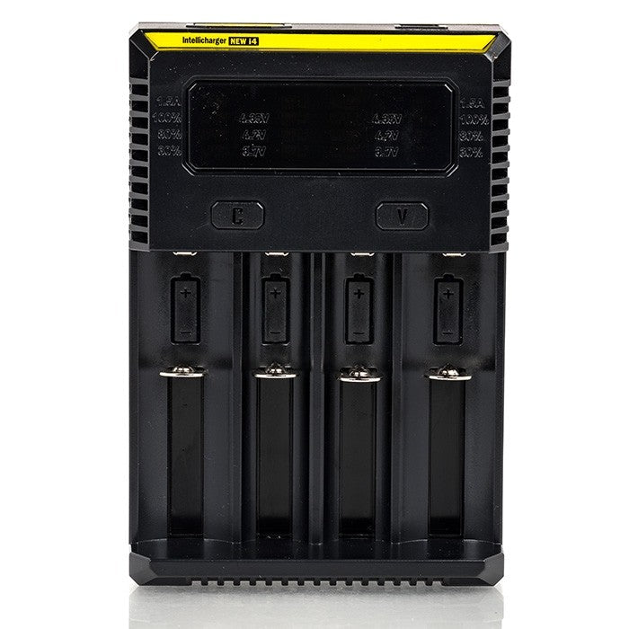 Nitecore i4 Intellicharger 4 Bay Battery Charger (New 2016)