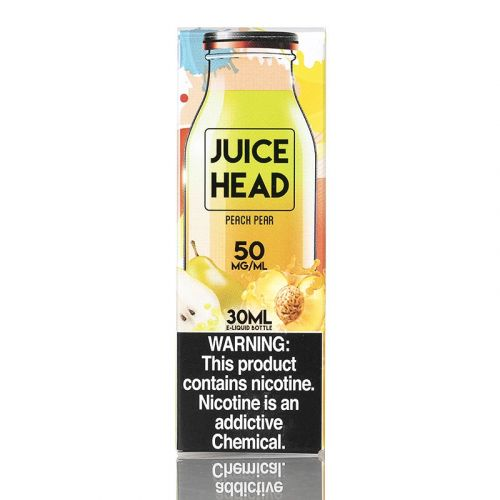 PEACH PEAR SALTS - JUICE HEAD E-LIQUID - 30ML