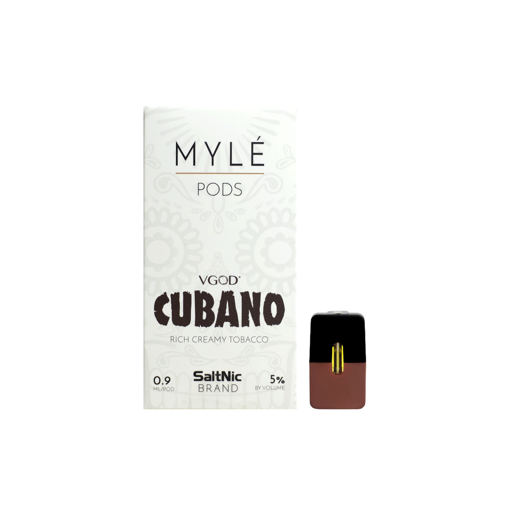 MYLE Replacement Flavor Pods - (4 Pack) - VGOD Cubano