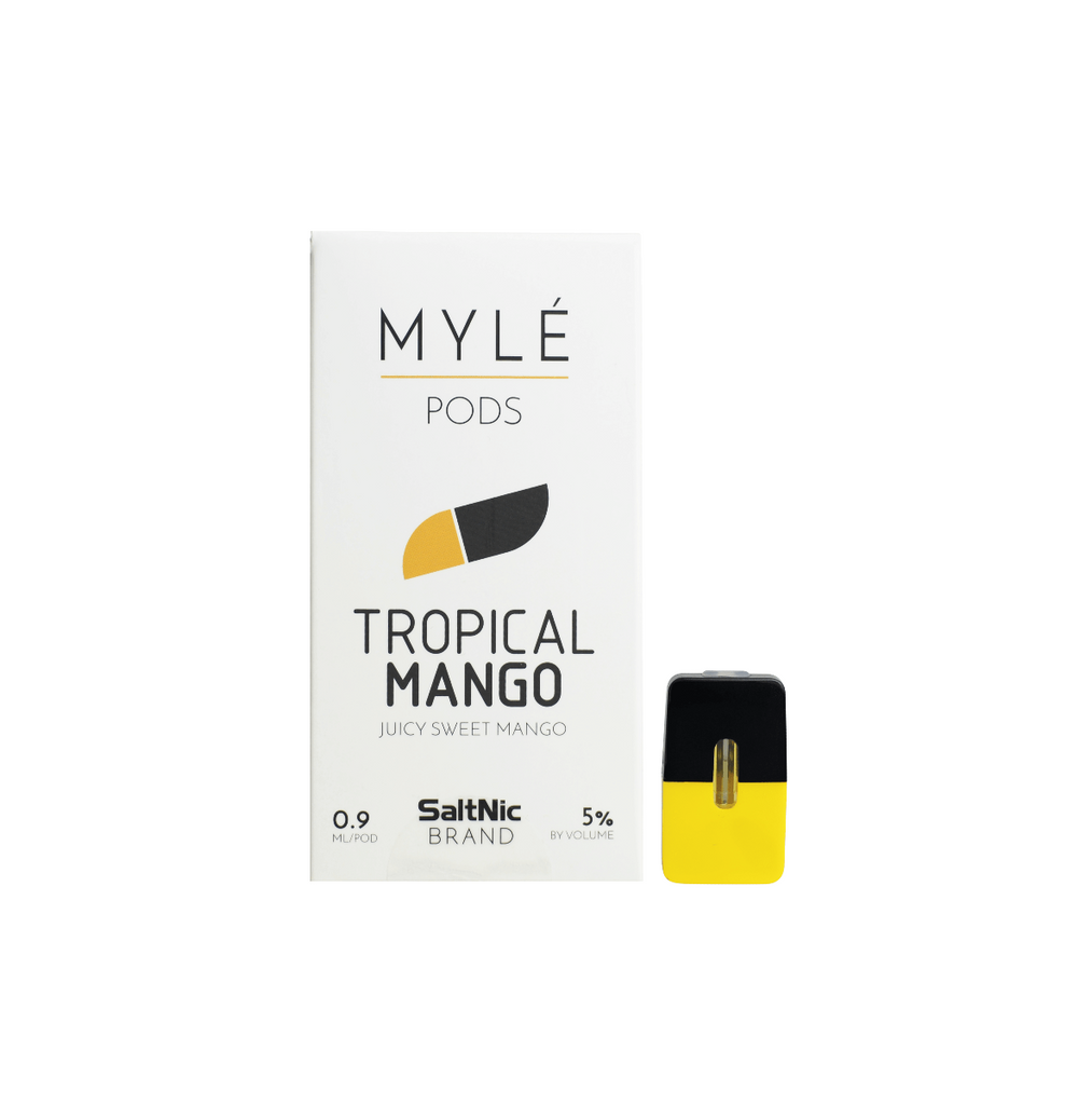 MYLE Replacement Flavor Pods - (4 Pack) - Tropical Mango