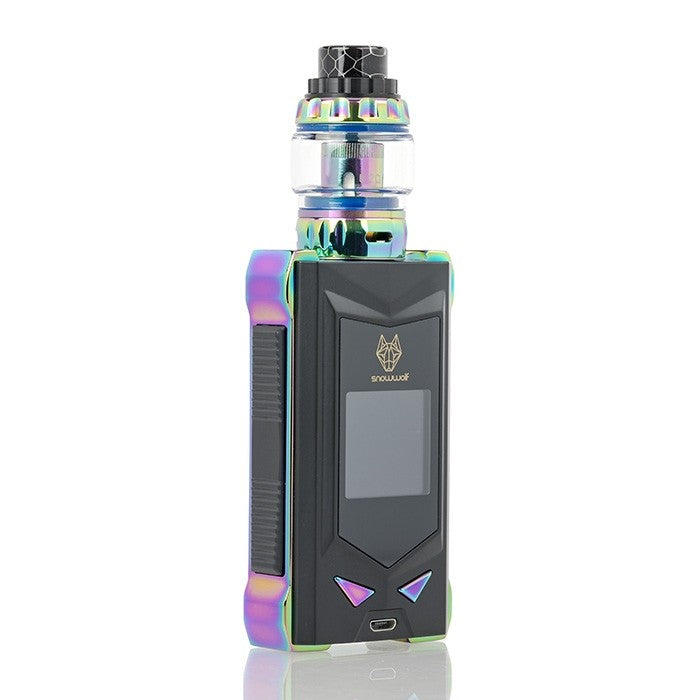 SnowWolf MFENG 200W TC Starter Kit - Rainbow/Black