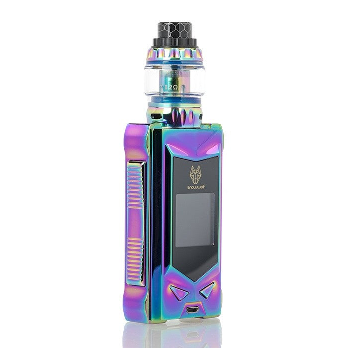 SnowWolf MFENG 200W TC Starter Kit - Rainbow