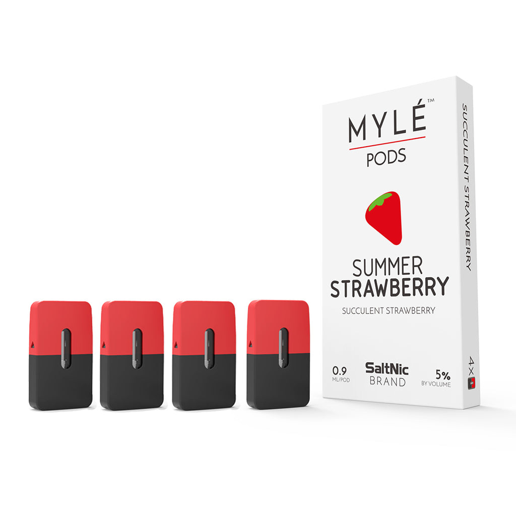 MYLE Replacement Flavor Pods - (4 Pack)