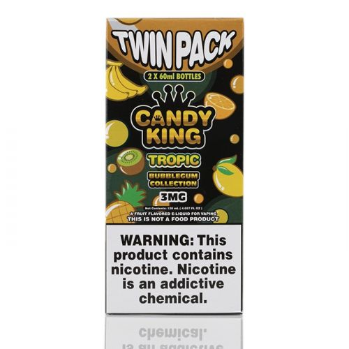 TROPIC BUBBLEGUM - CANDY KING E-LIQUID - 120ML