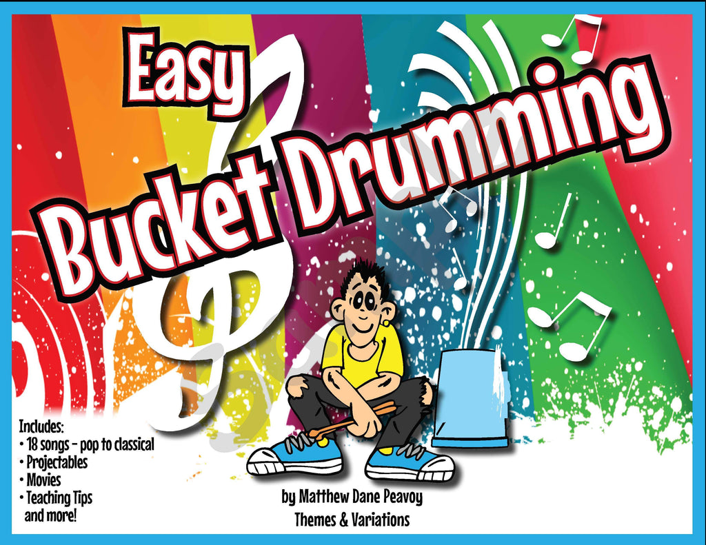 Easy Bucket Drumming Themes And Variations Usa