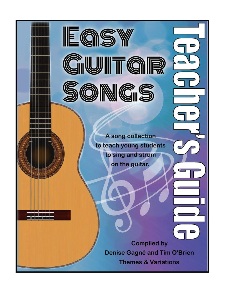 Book Cover: A purple and blue background with a guitar on the left side and