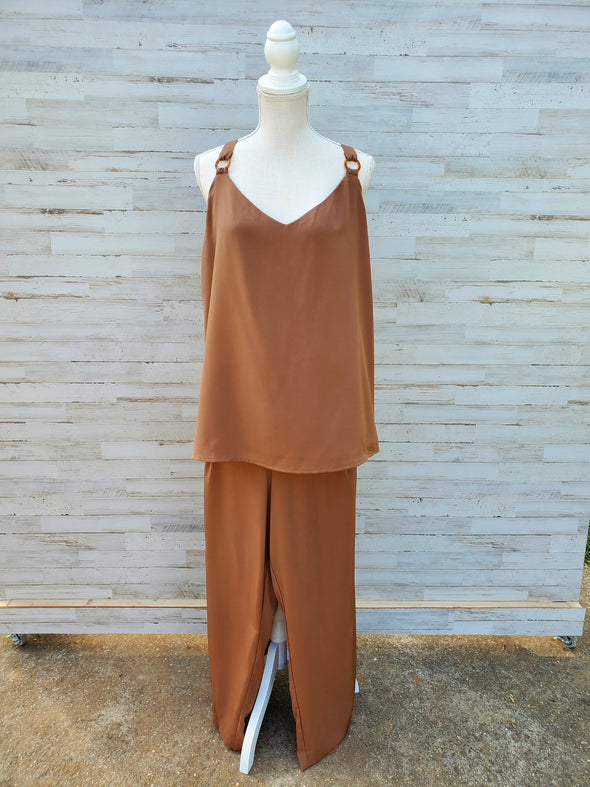 Brown Safari Cami