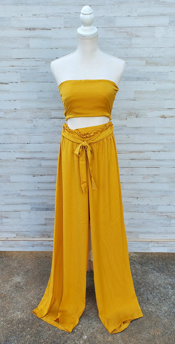 Some Like It Hot Flowy Trousers
