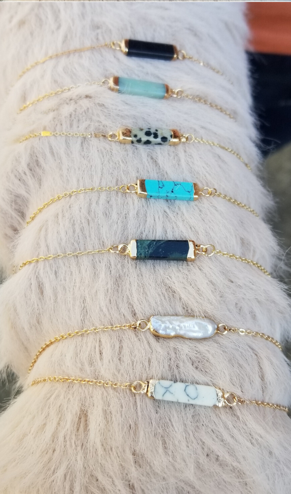 Choker Semi Precious Stone Necklaces