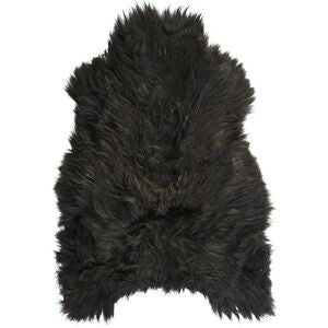 ICELANDIC SHEEPSKIN | DARK BROWN/BLACK - Lux & Hide
