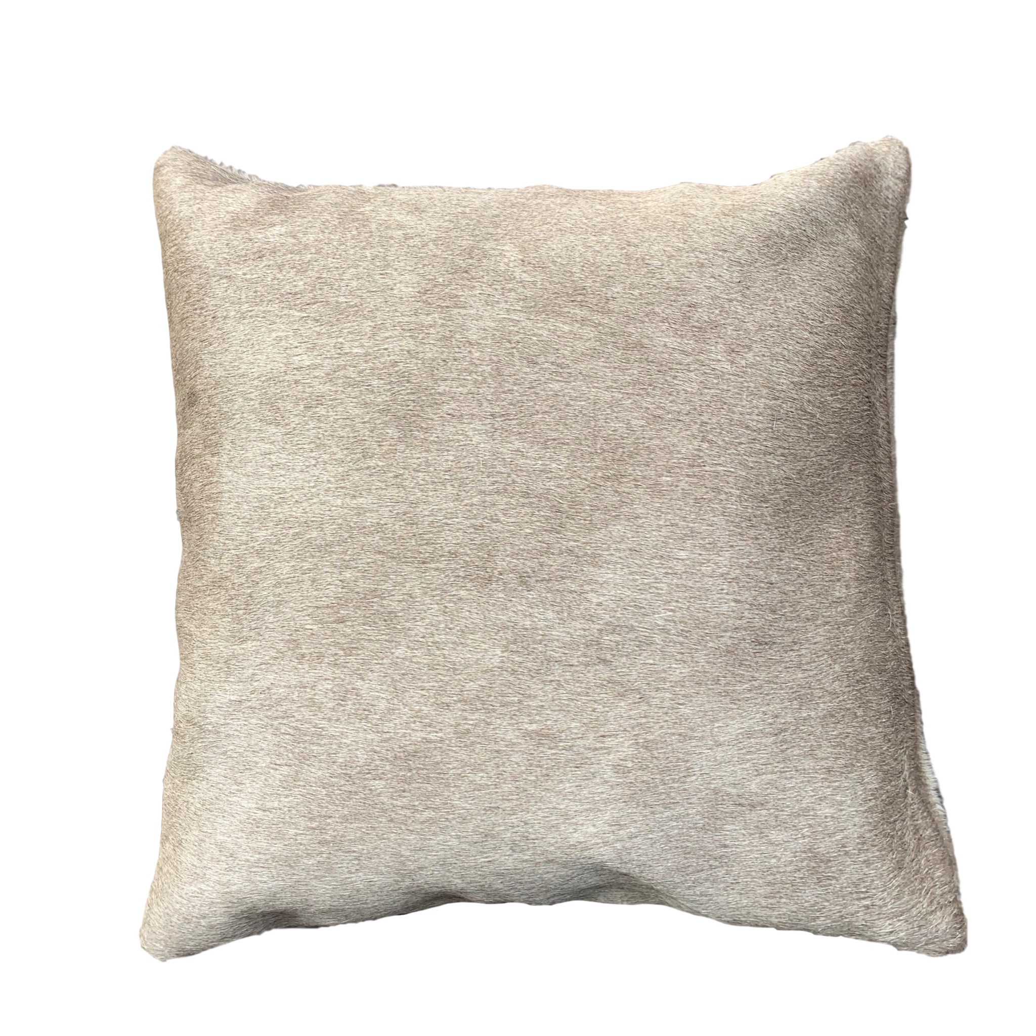 champaign cowhide cushion
